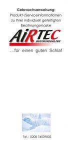 Doanload: AirTec Flyer Gebrauchsanweisung